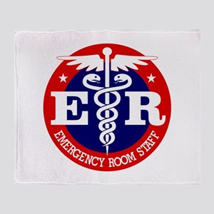 ER Staff Throw Blanket