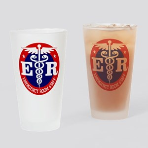 ER Staff Drinking Glass