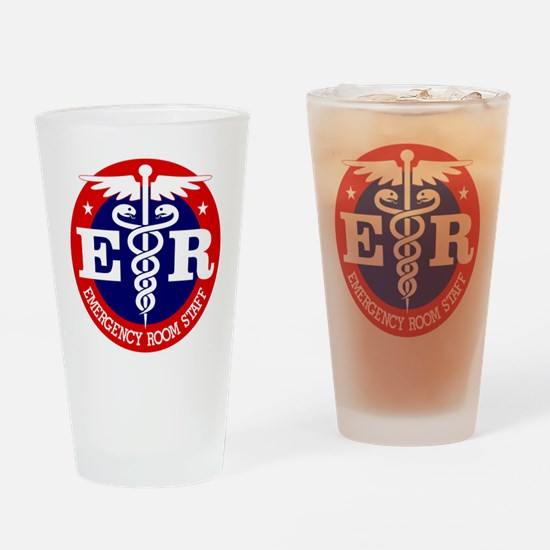 ER Staff Drinking Glass
