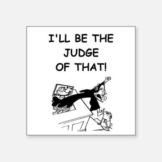 JUDGE3 Sticker