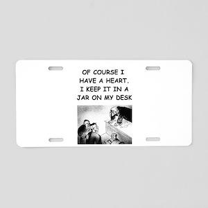JUDGE7 Aluminum License Plate