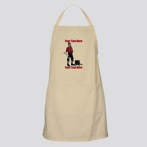 Lumberjack CUSTOM TEXT Apron