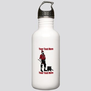 Lumberjack CUSTOM TEXT Stainless Water Bottle 1.0L