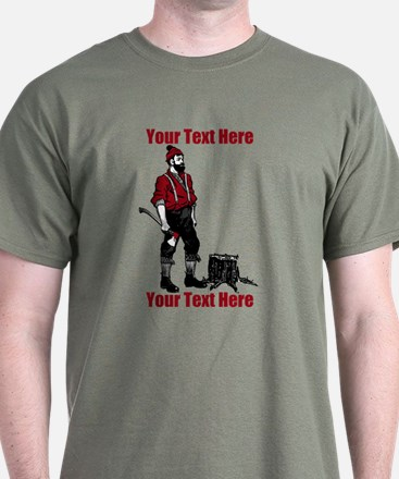 Lumberjack CUSTOM TEXT T-Shirt