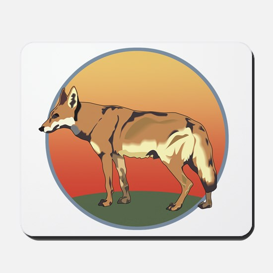 Coyote Sunset Mousepad