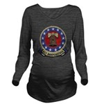 USS INDEPENDENCE Long Sleeve Maternity T-Shirt