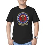 USS INDEPENDENCE Men's Fitted T-Shirt (dark)