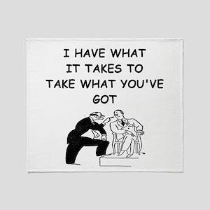 LAWYER2 Throw Blanket