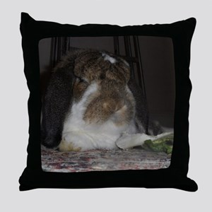 Giant French Lop Throw Pillow