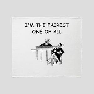 JUDGE6 Throw Blanket