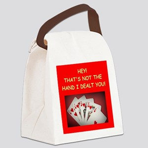 POKER2 Canvas Lunch Bag