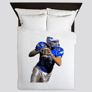 Football quarterback Queen Duvet