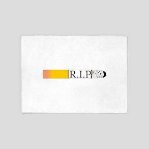 R.I.P. 5'x7'Area Rug