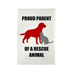 Proud Parent of a Rescue Animal Magnets