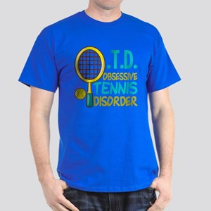 Funny Tennis Dark T-Shirt