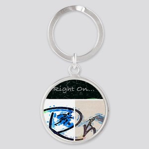 Right On Night Keychains