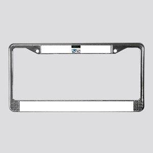 Right On Night License Plate Frame