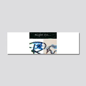 Right On Night Car Magnet 10 x 3