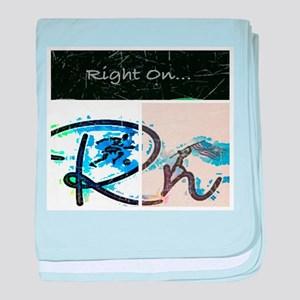 Right On Night baby blanket