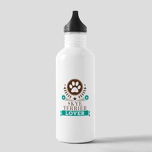 Skye terrier Dog Lover Stainless Water Bottle 1.0L