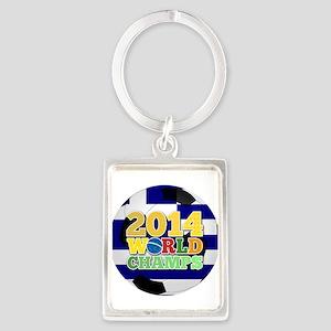 2014 World Champs Ball - Greece Keychains