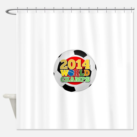 2014 World Champs Ball - Japan Shower Curtain