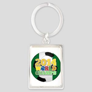 2014 World Champs Ball - Nigeria Keychains