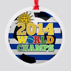 2014 World Champs Ball - Uruguay Ornament