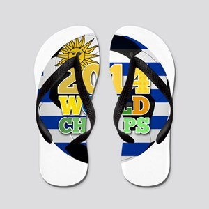 2014 World Champs Ball - Uruguay Flip Flops