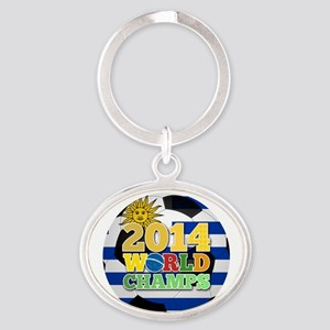2014 World Champs Ball - Uruguay Keychains