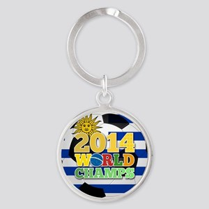 2014 World Champs Ball - Uruguay Keychains
