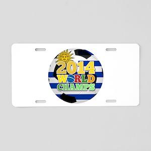 2014 World Champs Ball - Uruguay Aluminum License