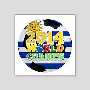 2014 World Champs Ball - Uruguay Sticker