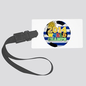 2014 World Champs Ball - Uruguay Luggage Tag