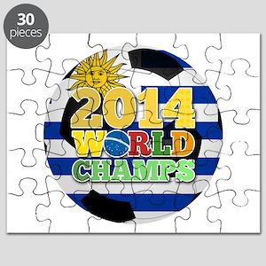 2014 World Champs Ball - Uruguay Puzzle