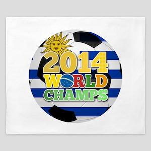 2014 World Champs Ball - Uruguay King Duvet