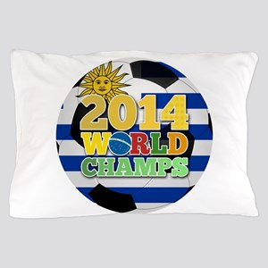 2014 World Champs Ball - Uruguay Pillow Case