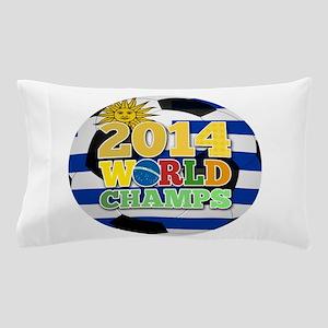 2014 World Champs Ball - Uruguay Pillow Case