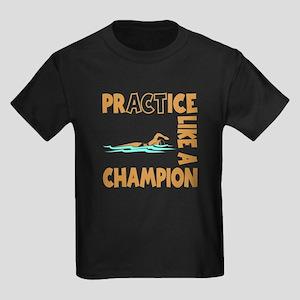 CHAMPION SWIM Kids Dark T-Shirt