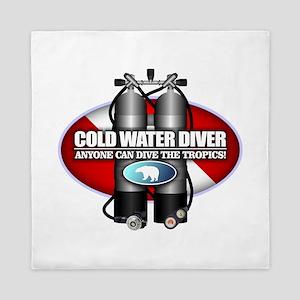 Cold Water Diver (ST) Queen Duvet