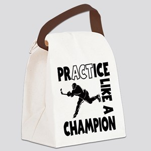 HOCKEY CHAMPION Canvas Lunch Bag