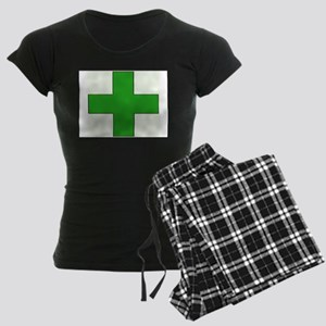 Green Medical Cross Pajamas
