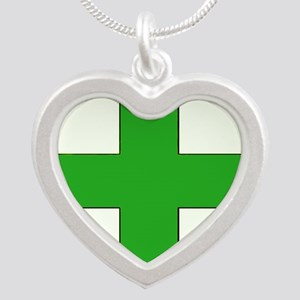 Green Medical Cross Necklaces