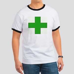 Green Medical Cross T-Shirt