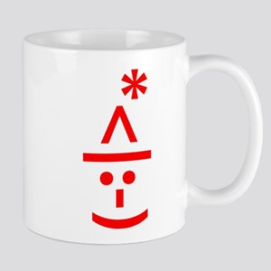 Christmas Elf Emoticon Smiley Mugs