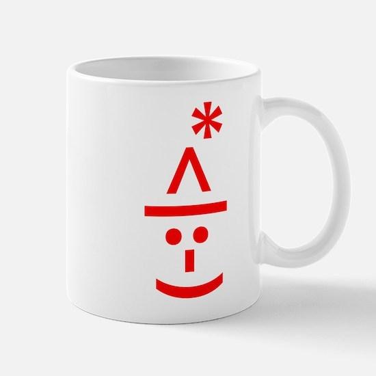 Christmas Elf Emoticon Smiley Mugs