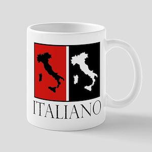 Italiano: Red Black Mugs