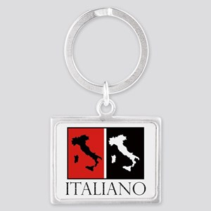 Italiano: Red Black Keychains