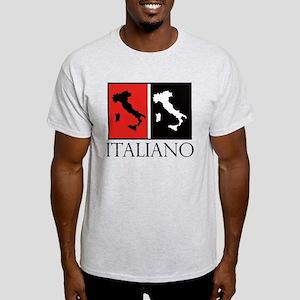 Italiano: Red Black T-Shirt