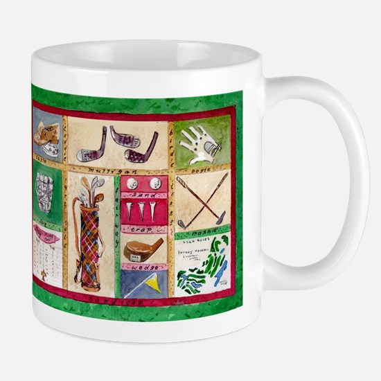 Golf Collage Mugs